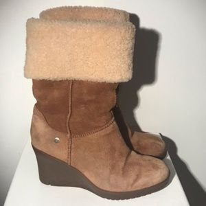 UGG Joslyn wedge boots